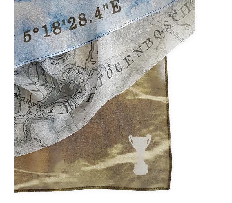 Hometown Map Sjaal 60x160