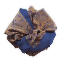 Klassieke Paisley Sjaal Blue 60x160