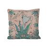 LITTLE TROPHY Fantasea kussen zacht roze/mint green 45x45