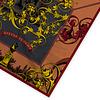 LITTLE TROPHY Rechteren Castle Shawl Brown/Yellow 128x128