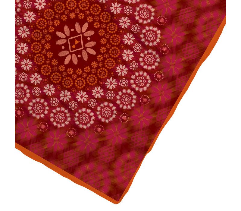 Dots Shawl Orange 128x128