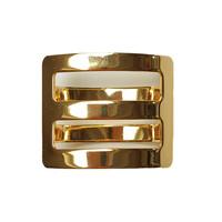 Shawl Jewel Vierkant Goud