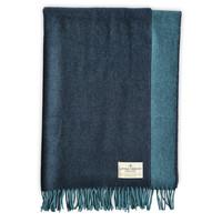 Pure Merino Lamswollen Stola Koningsblauw 70X220