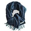 LITTLE TROPHY Pure Merino Lamswollen Stola Koningsblauw 70X220