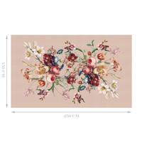 Painted Flowers Tafelkleed 150x250cm Roze