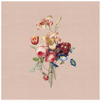 Painted Flowers Servet 45x45cm Roze