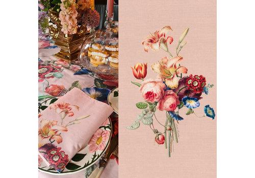 LITTLE TROPHY FLOWERS SERVET 45X45 ROZE
