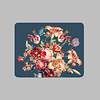 LITTLE TROPHY Painted Flowers Placemat 35x45 cm Blauw Kunststof