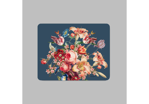 LITTLE TROPHY FLOWERS PLACEMAT 35X45 BLAUW