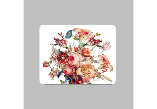 LITTLE TROPHY FLOWERS PLACEMAT 35X45 WIT