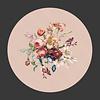 LITTLE TROPHY Painted Flowers Tafelkleed Rond Ø 160cm Roze