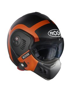 Roof Boxer V8 Bond Black/Orange Matt