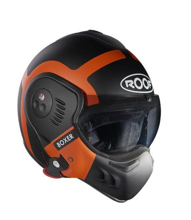 Roof Boxer V8 Bond Black/Orange Matt