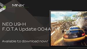 Firmware Update van de MINIX NEO U9-H
