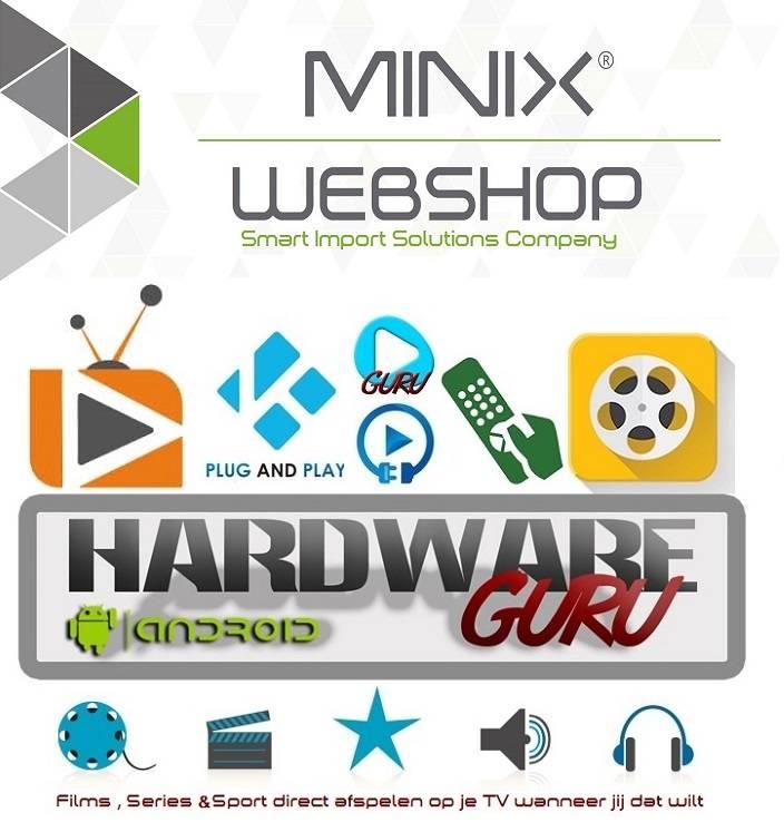 Hardwareguru - MINIXWEBSHOP 4 jaar al bezig met custom Kodi/XBMC
