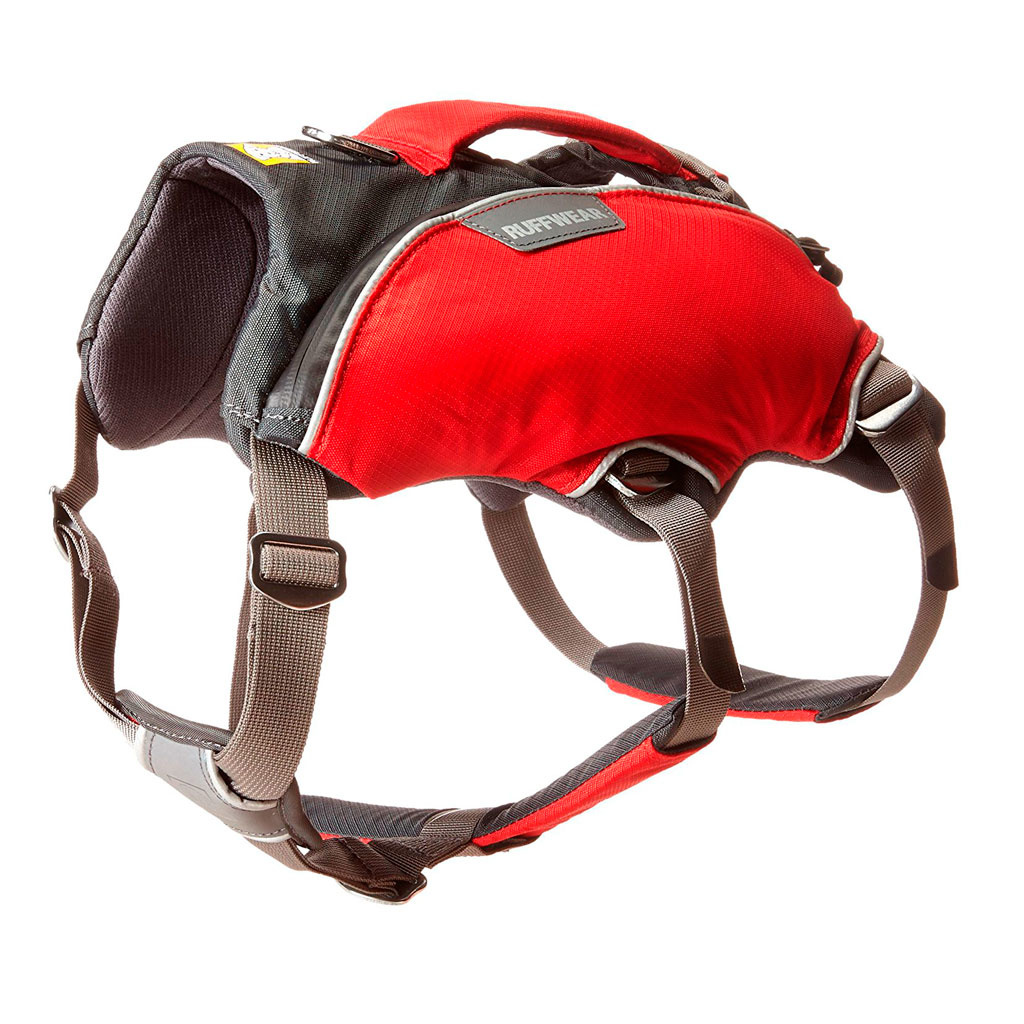 Ruffwear Web Master Pro™ Harnas Red Currant-1