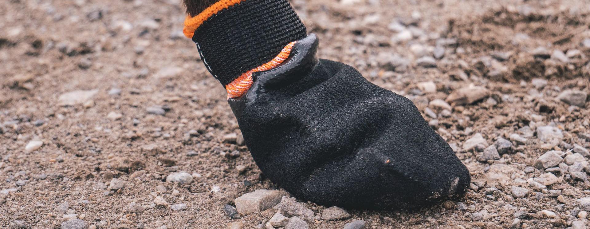 Booties voor gravel, steentjes en bergen