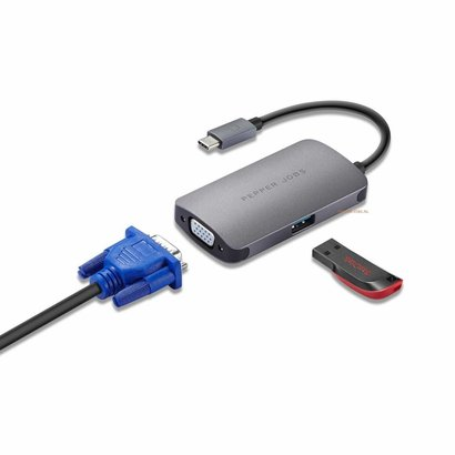 Pepper Jobs TCH-3  USB-C AV Multipoort Adapter