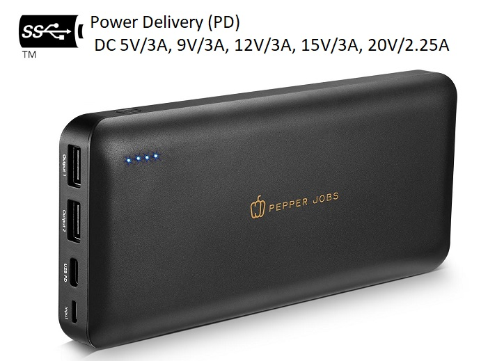 Power Delivery Powerbank PD45W20L