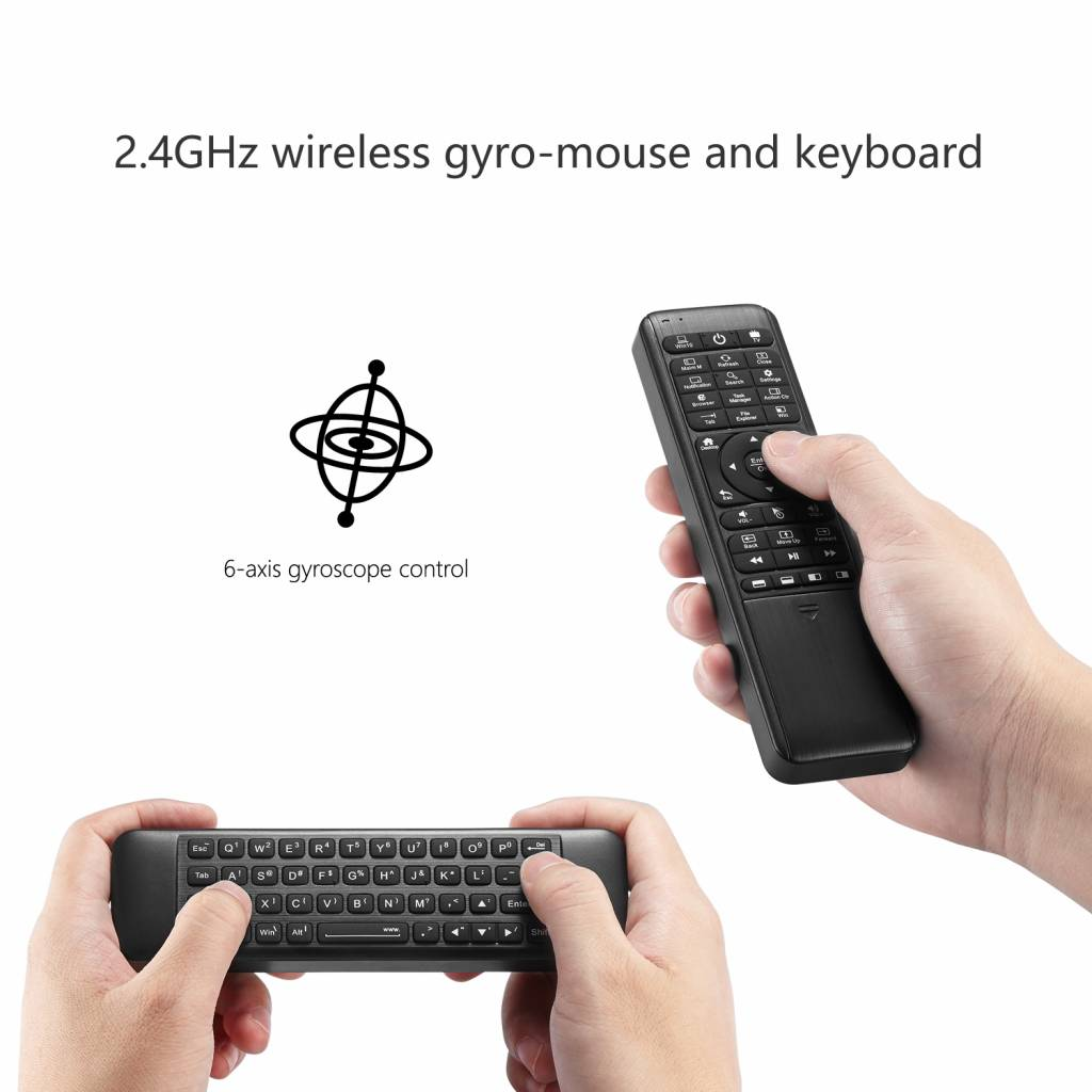Pepper Jobs W10 GYRO The world's 1st remote designed for