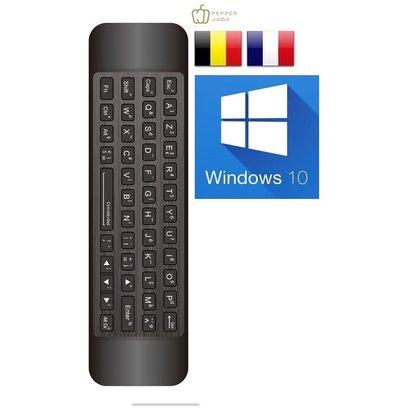 Pepper Jobs W10 GYRO (Azerty) 's werelds nummer 1 remote ontworpen voor Windows 10