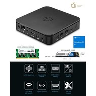 Pepper Jobs GLK-UC2X 8GB/64GB/250GB Windows 10 Pro Intel® Gemini Lake Mini PC