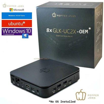 Pepper Jobs  8 stuks GLK-UC2X mini pc - OEM ( geen OS)