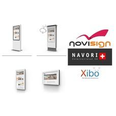 Lecteurs de signalisation numérique / kiosque