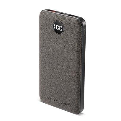 Pepper Jobs Le PD18W10P est la dernière génération de chargeurs portables (10,000mAh) équipés d'un port d'entrée et de sortie USB-C (power delivery).