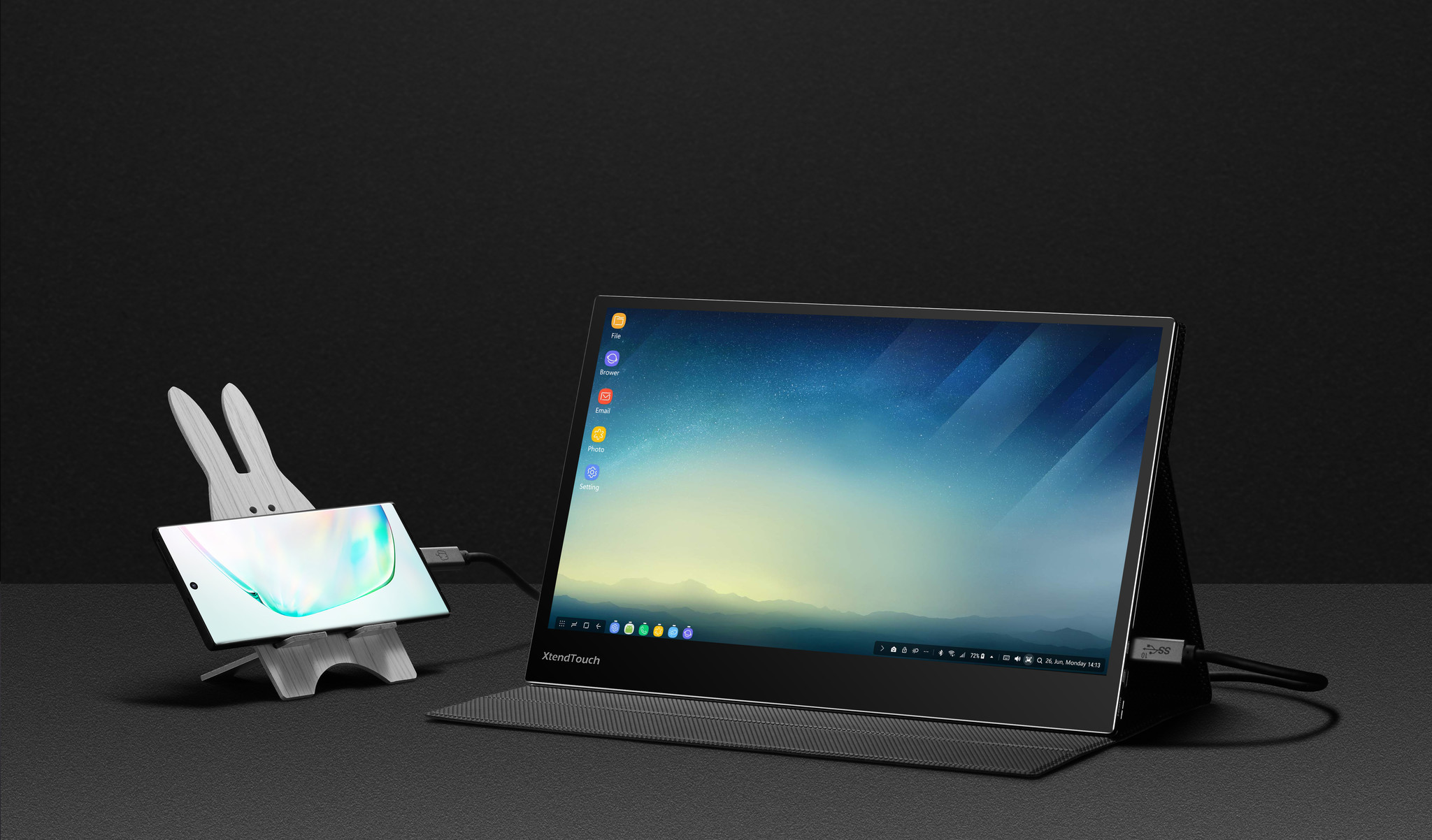 Uitbreiding van de portable monitors met de XT1310F