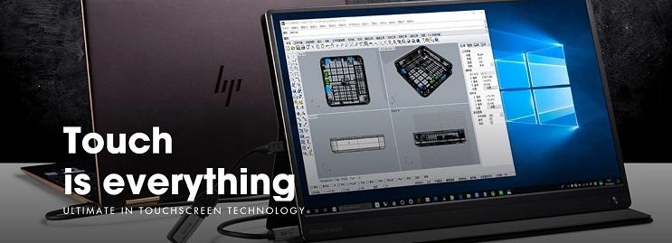 PEPPER JOBS XtendTpuch XT1610F Battery portable monitor USB-C