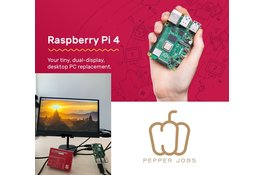 Raspberry Pi 4 werkt op de Pepper Jobs XTendTouch modellen