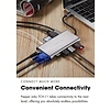 Pepper Jobs TCH-11  Ultra USB-C Digital HDMI / VGA / LAN Multiport & Network Hub