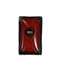 "Huisgemaakte sauzen - Tomatensaus met basilicum ""vega"""