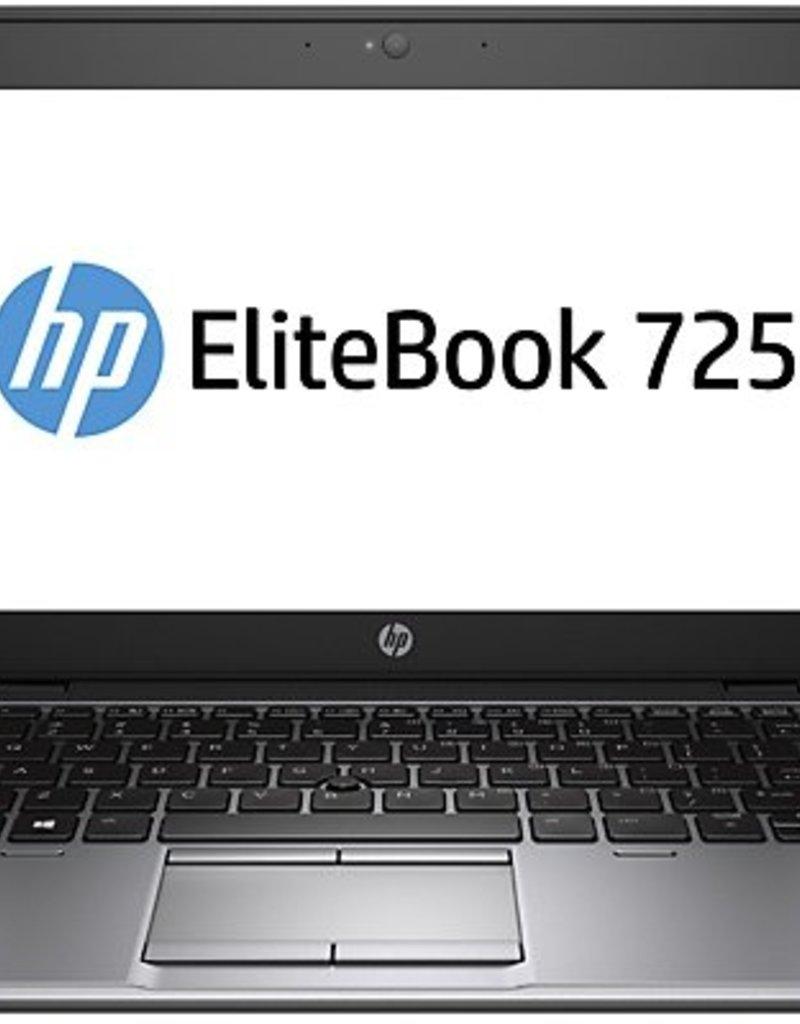"""Hewlett Packard EliteBook 725 G2 - AMD A8-7150B / 120GB SSD / 8GB RAM / 12.5"""" inch."""