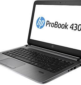 Hewlett Packard HP Probook 430 G2 - i3 4e gen - 128 Gb SSD en 4 Gb geheugen (uitbreidingsopties aanwezig) - kleine beschadiging  KOOPJE ! -  (marge artikel