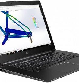 Hewlett Packard HP Zbook workstation G4 studio 15,6 FHD - i7 7700HQ-256 GB SSD m2sata- 16GB ram - nvidia quadro M1200 - marge artikel