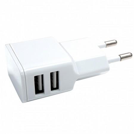 USB thuislader 2.4A 2x USB