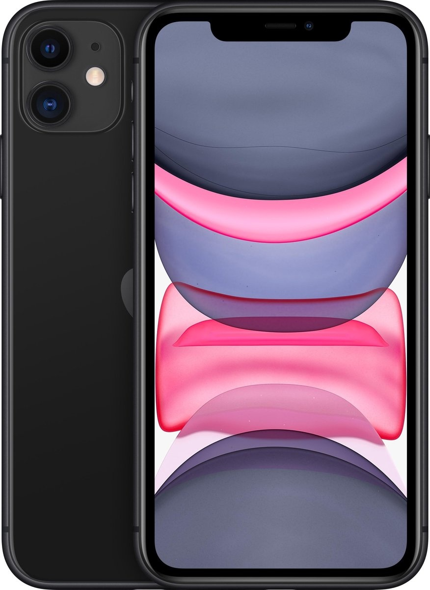 Apple Refurbished Apple iPhone 11 128GB Zwart