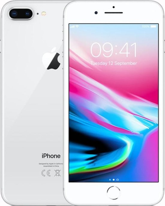 Apple Refurbished Apple iPhone 8 Plus 64GB Zilver