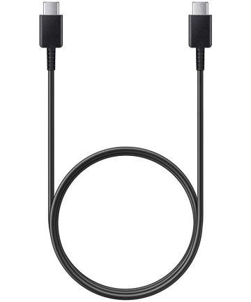 Samsung Originele Samsung USB C naar USB C oplaadKabel Zwart 1m