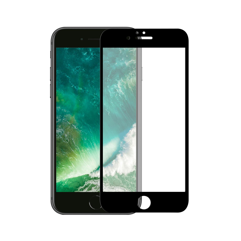 Apple Iphone 6/6S Tempered Glass 10D zwart