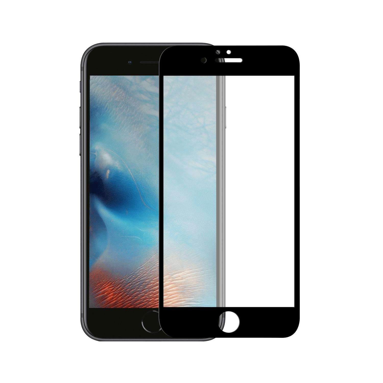 Apple Iphone 6 Plus/6S Plus Tempered Glass 10D Zwart