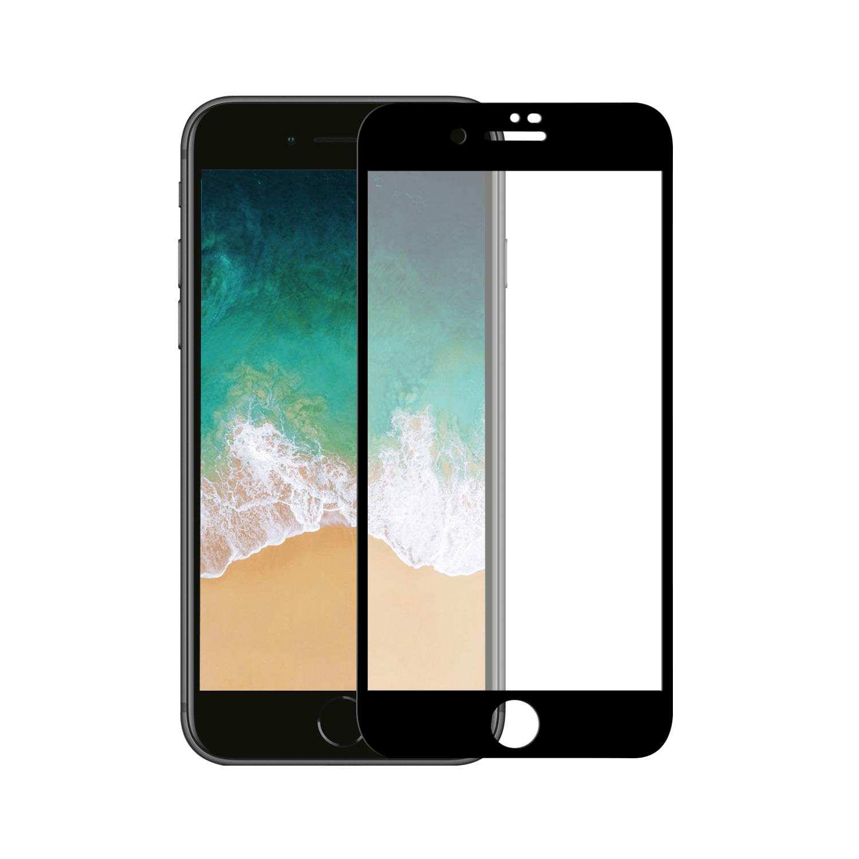 Apple iPhone 7 Plus/8 Plus Tempered Glass 10D Zwart