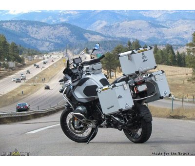 BUMOT Panniersystem for the R1200 / 1250 GS/GSA LC 2013-
