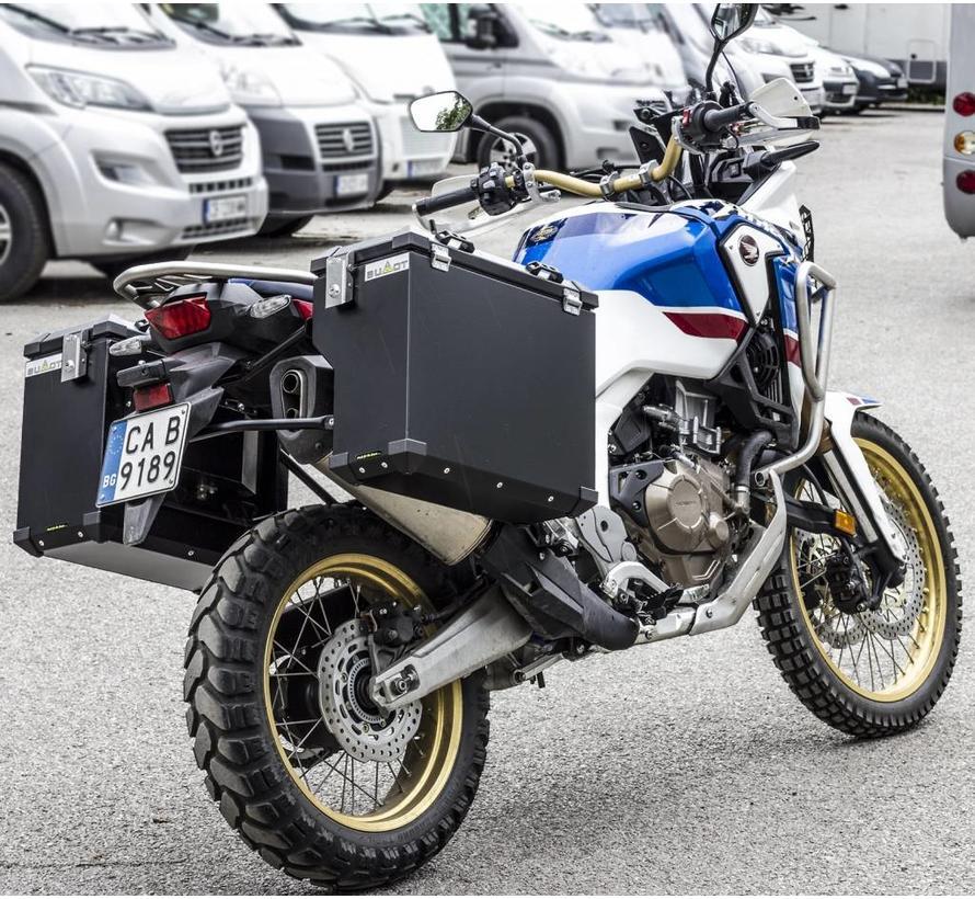 Zijkoffersysteem voor de CRF1000L Africa Twin Adventure Sports + Standard 2018