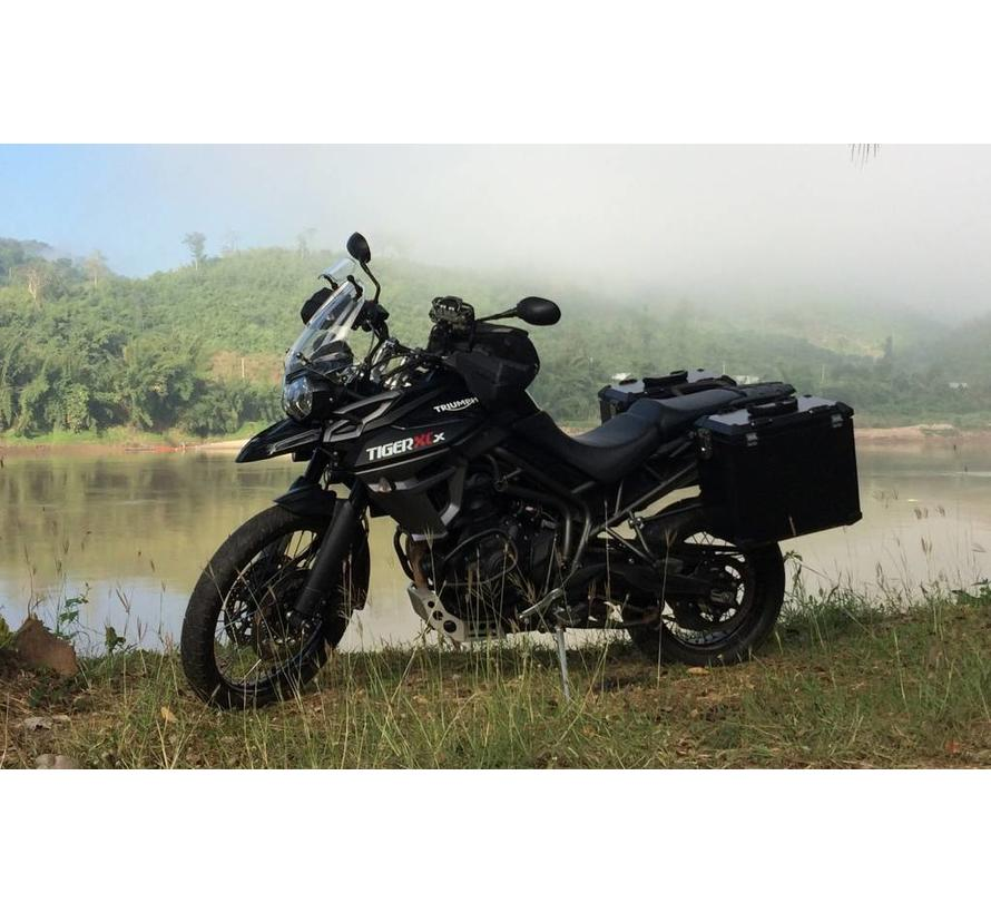 Panniersystem for the Tiger 800