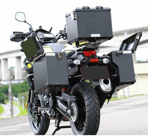 BUMOT Panniersystem for the DL 1000 - V-Strom 2014-