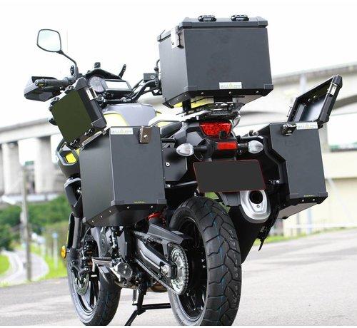 BUMOT Zijkoffersysteem voor de DL 1000 - V-Strom 2014-