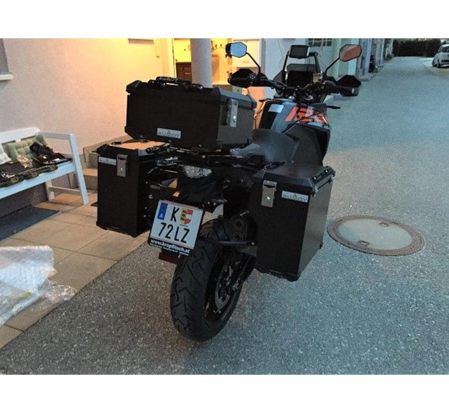 BUMOT Topkoffer KTM 1050/1190/1290SA S/R/T + montage plaat geschikt voor je model